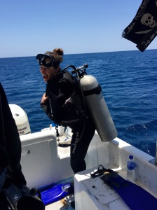 I was stoked to strap on a tank and get back in the water for a couple great dives off of Menjangan Island in Bali.